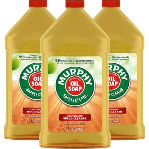 Murphy's Oil Soap Wood Cleaner and Polish 32-oz. Bottle 3-Pack for $10