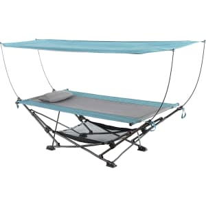 Mac Sports Collapsible Canopy Hammock for $140