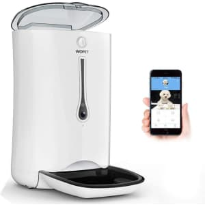 Wopet Automatic Pet Feeder with Camera App for $140