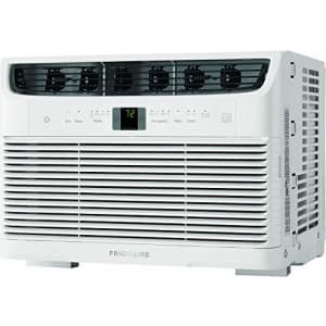 Frigidaire, White Energy Star 5,000 BTU 115V Window-Mounted Mini-Compact Air Conditioner with for $171
