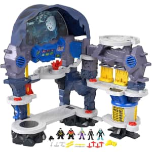 Fisher-Price Imaginext DC Super Friends Super Surround Batcave Playset for $150