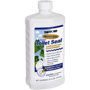 Thetford RV Toilet Seal Lube and Conditioner 24-oz. Bottle for $8