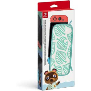 Nintendo Animal Crossing: New Horizons Aloha Edition Carrying Case w/ Screen Protector for $23