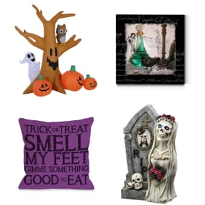 Halloween Decor at Overstock.com: from $10