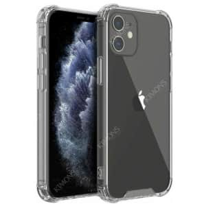 Kimons Clear TPU Shockproof Case for iPhone for $5 or 3 for $10