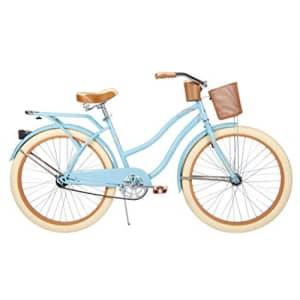 """Huffy 26"""" Nel Lusso Women's Cruiser Bike (Women's, Gloss Blue) (Gloss Blue, Women's) for $366"""