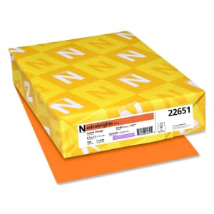 Neenah Astrobrights Color Paper 500-Sheet Pack for $5