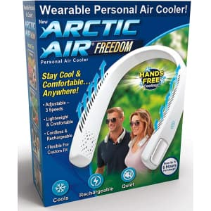 Arctic Air Freedom Personal Air Cooler for $25