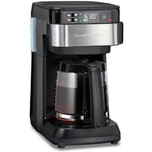 Hamilton Beach Smart Coffee Maker w/ Alexa for $71