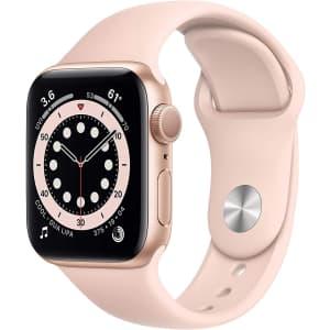 Apple Watch Series 6 40mm GPS Sport Smartwatch for $289 in cart