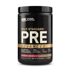Optimum Nutrition Gold Standard Pre Workout Advanced, with Creatine, Beta-Alanine, Micronized for $52
