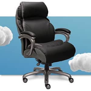 Serta Big and Tall Executive Office Chair with AIR Technology and Smart Layers Premium Elite Foam, for $415