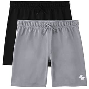 The Children's Place Boys Basketball Shorts 2-Pack, Multi CLR, Large for $19