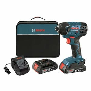 "Bosch 18V 1/4"" Hex Impact Driver Kit for $120"