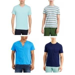 Men's T-Shirts at Macy's: Under $10