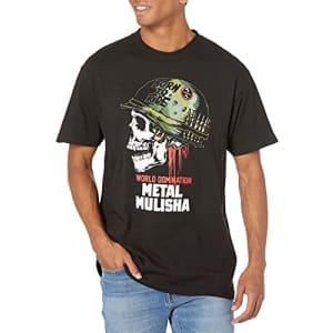 Metal Mulisha Men's Full Metal Tee Shirt Black, Small for $21