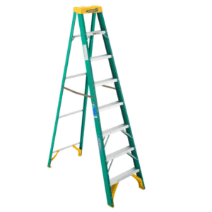 Werner 8 ft. H X 25 in. W Fiberglass Step Ladder for $79.99 for members