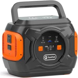 FF Flashfish 320W Portable Power Station for $260