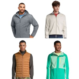 Lands' End Men's Outerwear Sale: from $8