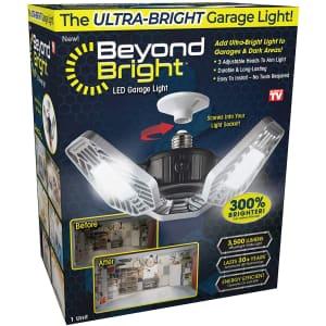 Beyond Bright LED Garage Light for $22