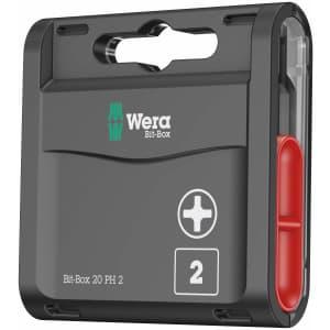 """Wera Tools 1/4"""" Bit Bit-Box for $10"""