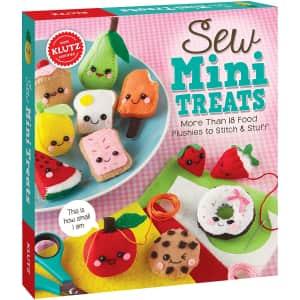 Klutz Sew Mini Treats Craft Kit for $12