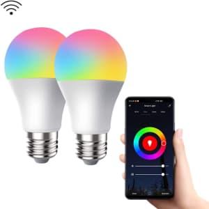 Crestin 9W Smart LED Bulb 2-Pack for $10