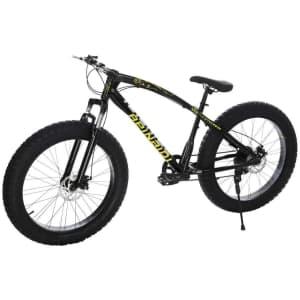 "Allasfun 26"" Fat Tire Mountain Bike for $320"