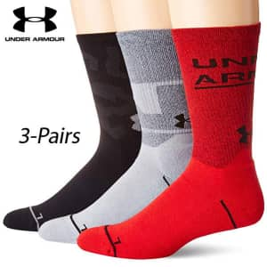 Under Armour Crew Socks at Field Supply: 40% off