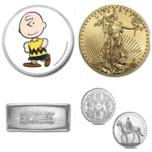 Coins and Bullion at eBay: Up to 45% off