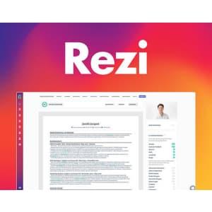 Rezi Résumé Software: Pro Lifetime Subscription for $29