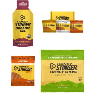 Honey Stinger Sports Nutrition Snacks at Amazon: Extra 10% off