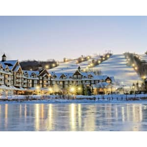 4-Night Chalet or Condo Stay at Blue Mountain Village Resort through Mar. '22 at Travelzoo: from $800 for up to 8