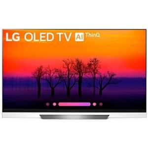 LG Electronics OLED65E8PUA 65-Inch 4K Ultra HD Smart OLED TV (2018 Model) (Renewed) for $1,799