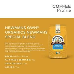 Newman's Own Organics Breakfast Blend, Ground, 10 Ounce Bag for $14