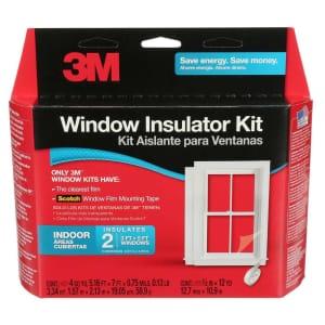 3M Indoor Window Insulator Kit 2-Pack for $10