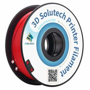 3D Solutech Real Red 3D Printer PLA Filament 1.75MM, Dimensional Accuracy +/- 0.03 mm, 2.2 LBS for $40
