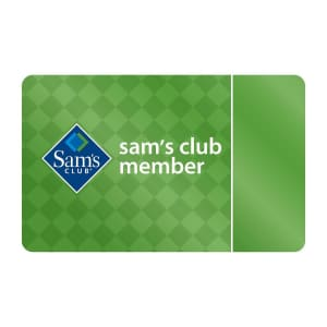 $45 Sam's Club Gift Card: free w/ sign-up