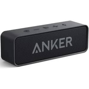 Anker Soundcore Bluetooth Speaker for $22