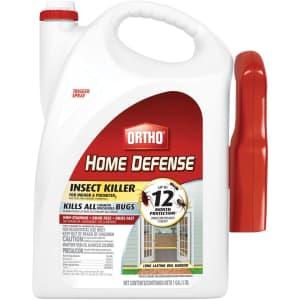 Ortho Home Defense Liquid Insect Killer 1-Gallon Bottle for $7