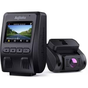 Aglaia 1080p Dual Dash Cam for $110