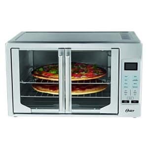 Oster TSSTTVFDDG Digital French Door Oven, Stainless Steel (Renewed) for $147