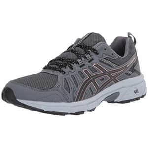 ASICS Women's Gel-Venture 7 Trail Running Shoes, 9M, Graphite Grey/Rose Gold for $56