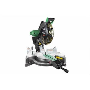 Metabo HPT 12-Inch Compound Miter Saw, Laser Marker System, Double Bevel, 15-Amp Motor, Tall for $200