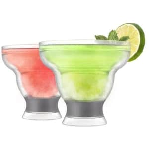 Host Margarita Freeze Insulated Stemless Cocktail Glass 2-Pack for $27