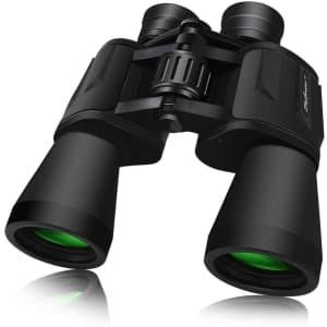 SkyGenius 10x50 Full-Size Binoculars for $40