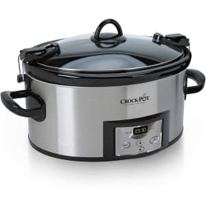 Crock-Pot 6-Quart Cook & Carry Programmable Slow Cooker for $51