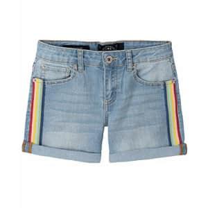 Lucky Brand Girls' Fashion Denim Shorts, Izzy Wash, 10 for $28