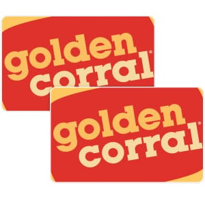 $50 in Golden Corral Gift Cards for $35