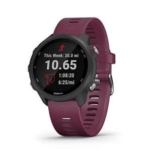 Garmin Forerunner 245, GPS Running Smartwatch with Advanced Dynamics, Berry for $290